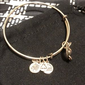 Alex and Ani Queens Crown Bangle